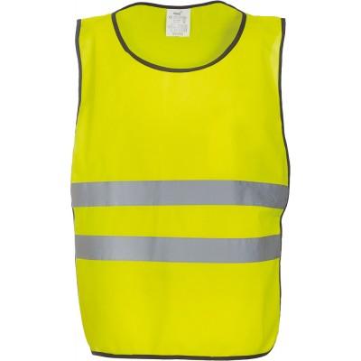 Chasuble de sécurité jaune